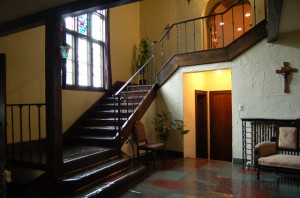 Front hall reception area